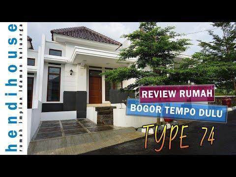 RUMAH BOGOR TEMPO DULU Review Tipe 74