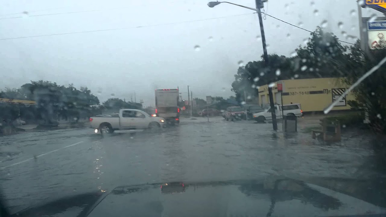 Flooding Jacksonville Florida - YouTube