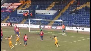 Junior Brown scores Mansfield