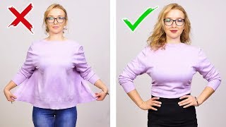 39 SMART CLOTHING HACKS