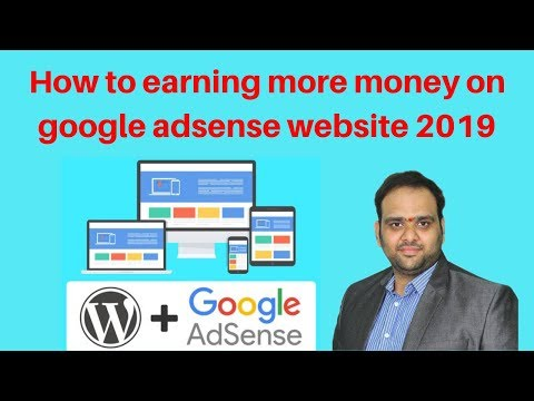 How to earning more money on google adsense website 2019 | Digital Marketing Tutorial thumbnail