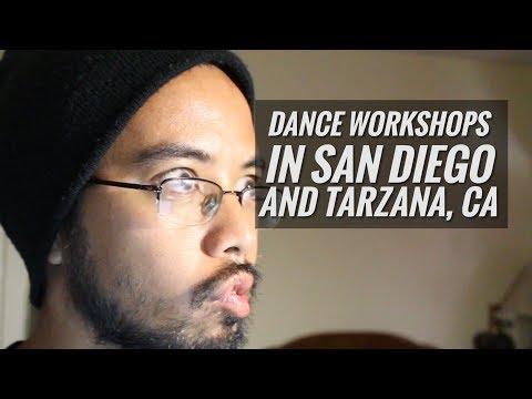 Dance Workshops In San Diego, CA and Tarzana, CA