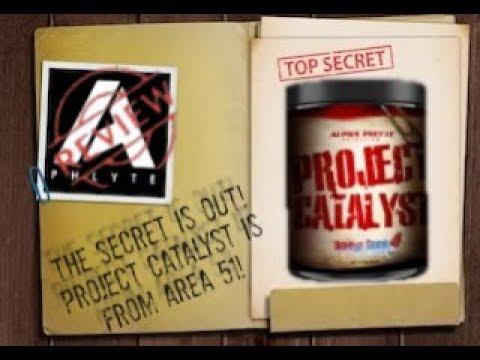 ALPHAPHLYTE PROJECT CATALYST PRE WORKOUT HONEST REVIEW! | AREA 51 FORMULATION!?