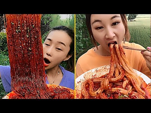 Super Spicy Food Eating Noodles Show Collection #4 - Chinese Food #ASMR #MUKBANG