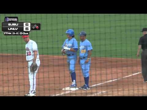 SJSU Baseball at UNLV highlights (3/5/16)