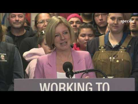 Canada news  |  'I'm not done fighting': Rachel Notley lays out choice for electors in 2019