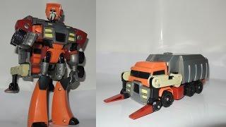 52 變形金剛 20 08動畫 v級 垃圾車 回收星人 環境保護員 tfa transformers animated voyager class wreck gar junkheap garbage