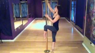 Pole Dance in Austin, TX: Basic Fireman Spin - Beginner