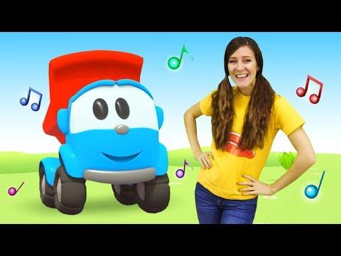 Canciones para niños pequeños. Aprendemos los días de semana. Canta con Leo el Pequeño Camión.