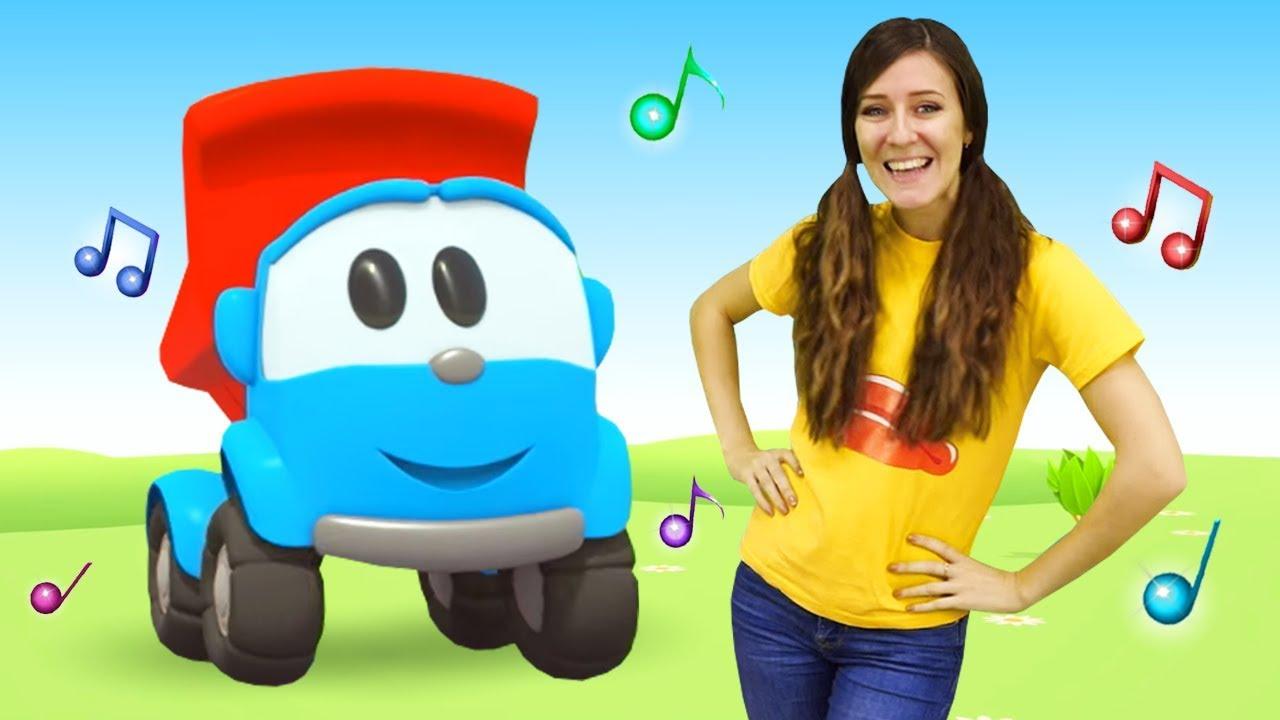 Canciones Para Niños Pequeños Aprendemos Los Días De Semana Canta Con Leo El Pequeño Camión Youtube