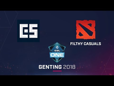 Filthy Casual vs CES - ESL One Genting 2018 NA - Game 2