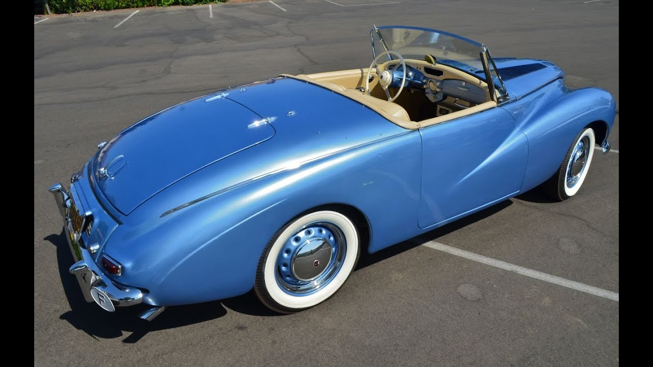 sold 1955 sunbeam alpine series one roadster ca youtube. Black Bedroom Furniture Sets. Home Design Ideas