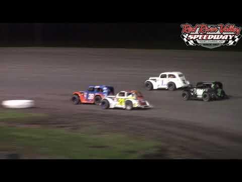 Red River Valley Speedway INEX Dirt Nationals Pro Legends A-Main (9/30/17)