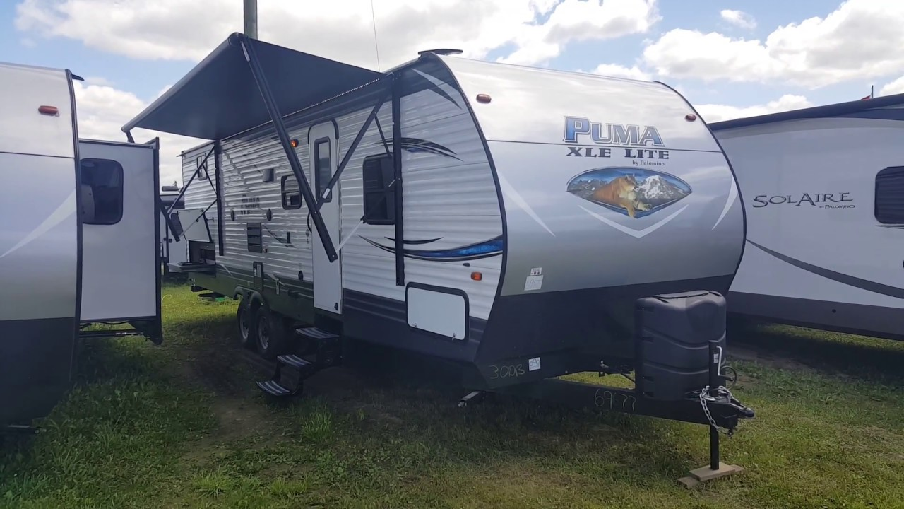 2018 Puma XLE 30DBSC 2 Bedroom Travel Trailer @ Camp Out RV In Stratford