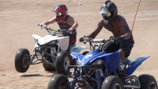 DIRT BIKES & QUADS at Silver Lake Sand Dunes