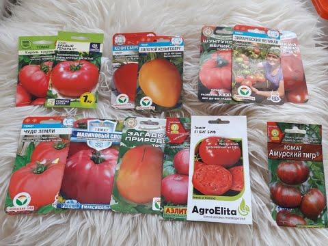 Семена  самых  крупных  томатов на 2020г. Проверенные сорта!