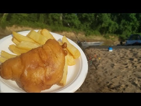 Catfish Catch Clean Cook & CAMP! Back Country Camping & Fishing for Catfish
