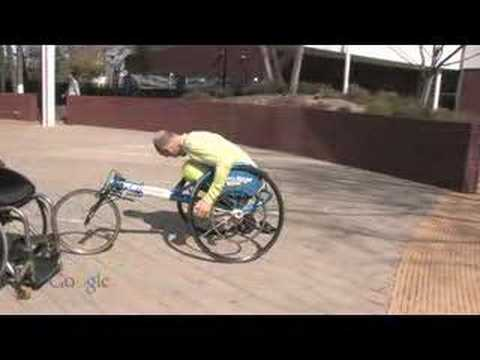 getting into a racing wheelchair youtube. Black Bedroom Furniture Sets. Home Design Ideas