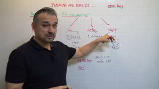 SINAVA 2,5 AY KALDI / MOTİVASYON / TYT AYT