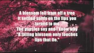 Nat King Cole - A Blossom Fell (Lyrics)