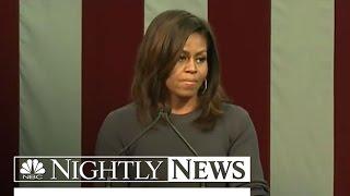 Michelle Obama Condemns Trump For Bragging About