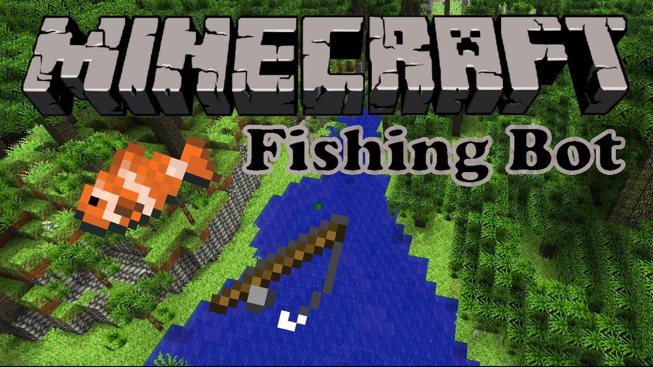 Minecraft Fishing Bot Mineflayer YouTube - Minecraft spielerkopfe erstellen