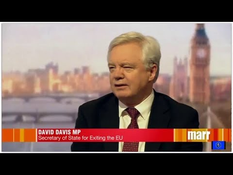 Brexit fallout: we love Irish border cake - David Davis v Keir Starmer
