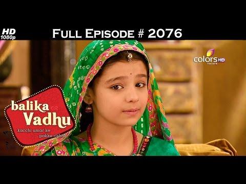 Balika Vadhu - 18th December 2015 - बालिका वधु - Full Episode (HD)