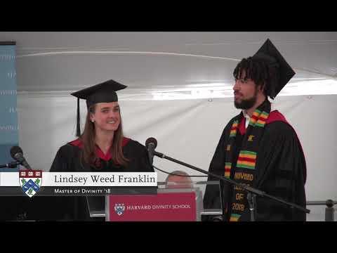2018 Diploma Awarding Ceremony at Harvard Divinity School