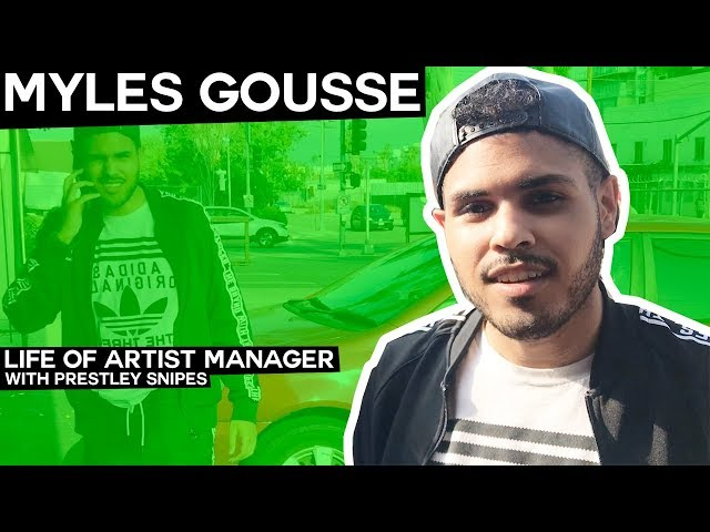 Max Gousses Son Myles [Life of Artist Manager]