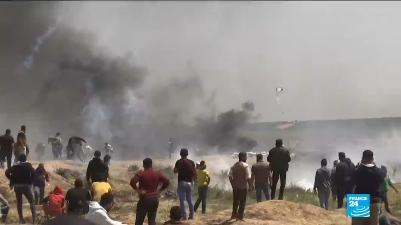 فرانس 24:Israeli-Palestinian conflict: Palestinian rocket on Beersheba draws Gaza air strikes