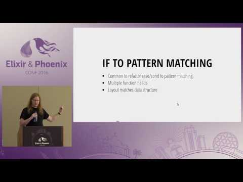 ElixirConf 2016 - Refactoring Techniques for Elixir, Ecto, and Phoenix by Gary Rennie