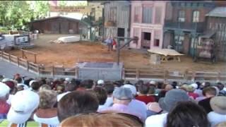 Wild West Stunt Show  Universal Studios Florida
