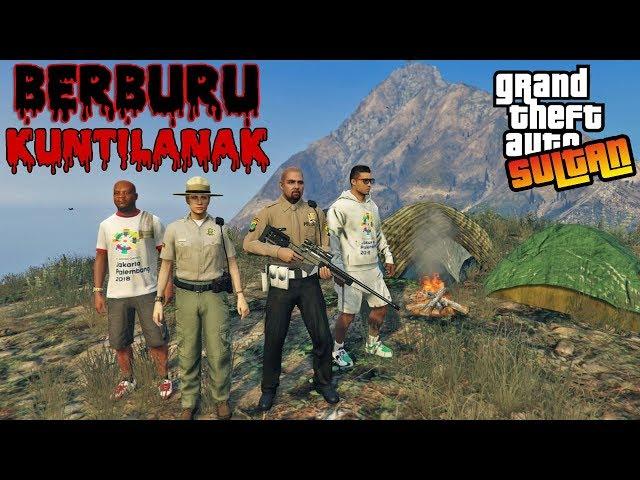 SULTAN BERKEMAH BERBURU KUNTILANAK - GTA 5 SULTAN