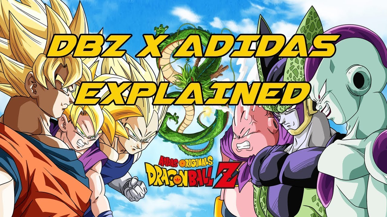 f7ee91fdd02 The Entire Adidas x Dragon Ball Z Collection Explained - YouTube