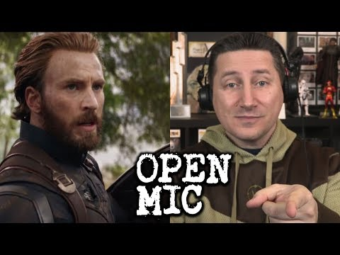 Open Mic - Let's Talk AVENGERS INFINITY WAR Trailer!