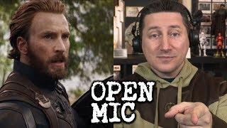 Open Mic - Let's Talk AVENGERS INFINITY WAR Trailer!