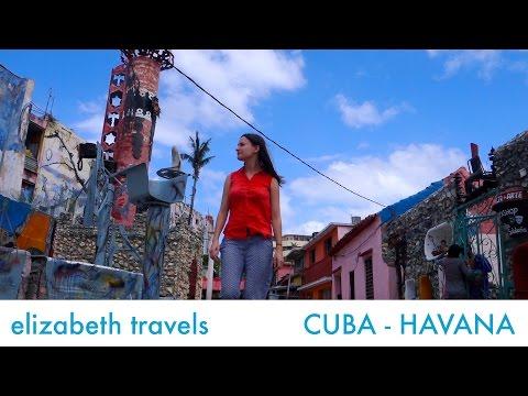 Callejon de Hamel - a street of murals | Cuba Day 3