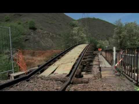 Fin des travaux de renouvellement de la voie Plan Rail