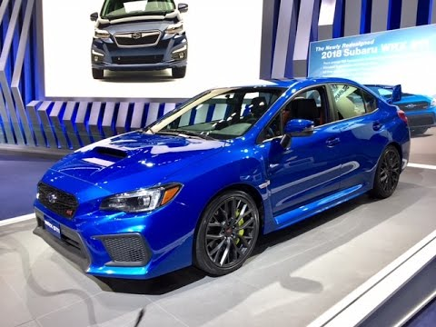 2018 subaru wrx sti redline first look 2017 naias youtube. Black Bedroom Furniture Sets. Home Design Ideas