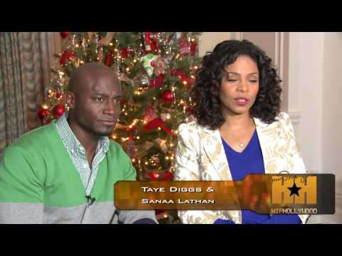 Behind the s Exclusive from the Set of 'The Best Man Holiday' HipHollywood.com