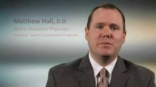 Profile: Dr. Matthew Hall, Sports Medicine Physician