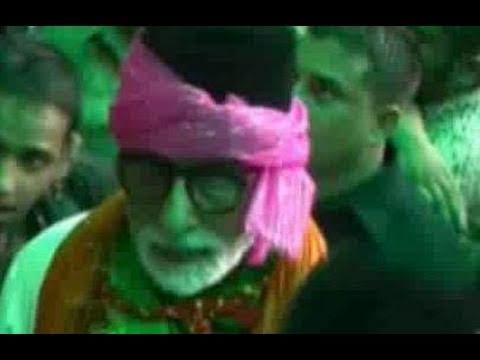 Amitabh Bachchan visits Ajmer dargah
