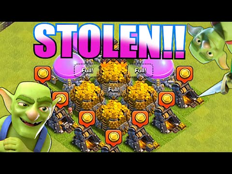 Clash Of Clans - STEALING FROM FARMERS!! TOP 5 (How low can you go?!?)