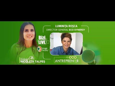ECO Antreprenor cu Luminița Roșca   Director General Eco Synergy