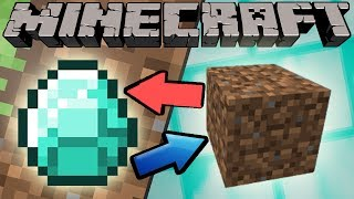 One of ExplodingTNT's most viewed videos: If Diamonds and Dirt Switched Places - Minecraft