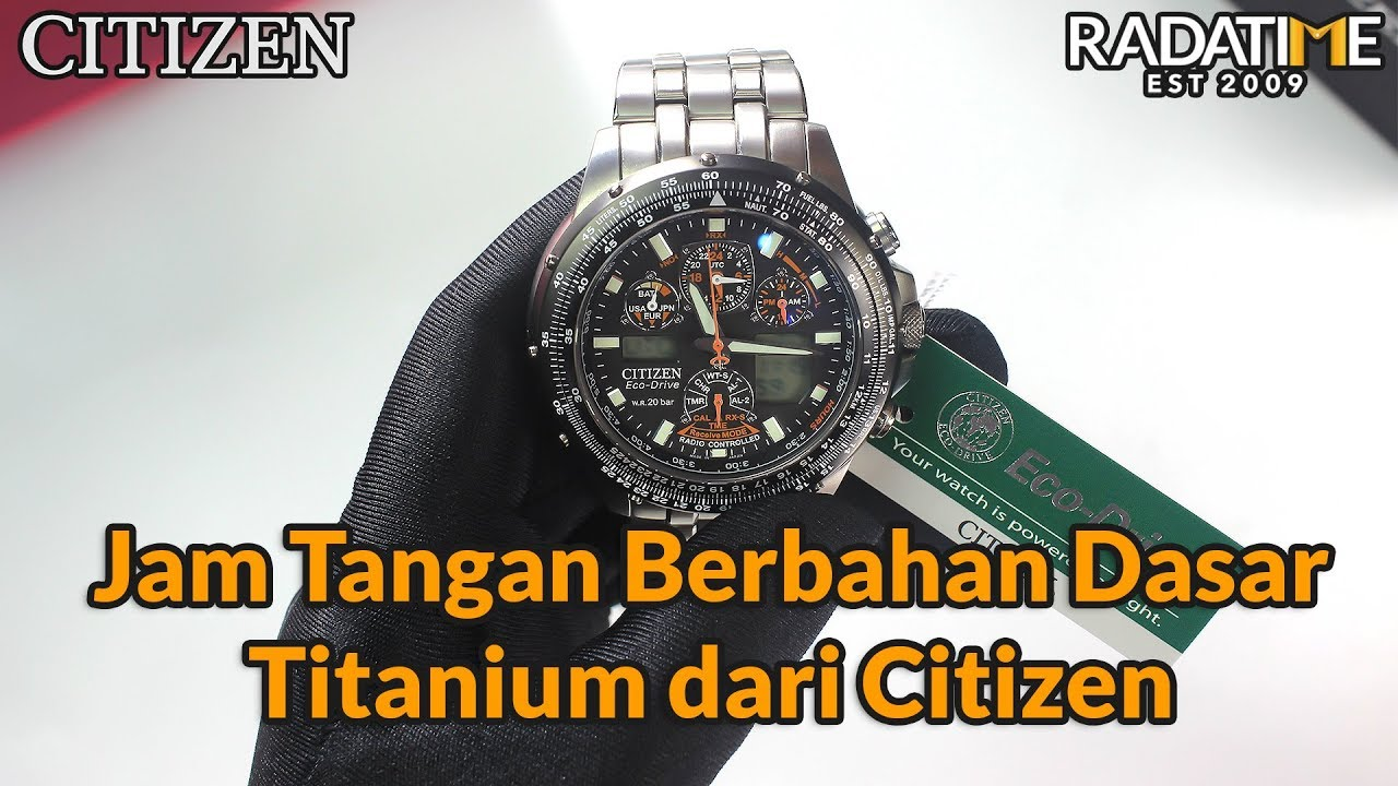 Review Citizen Promaster Radio Controlled Watch Jy0030 52e Indonesia Youtube