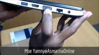 Asus VivoBook S500CA Win8 Touch Screen Overview