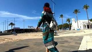 Кипр Прогулка по улицам Кипра под Tiesto