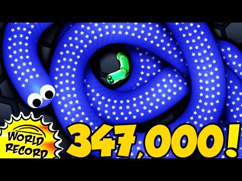347,000K RECORD MONDIALE! - SLITHER.IO (Favij vs Campione del Mondo)